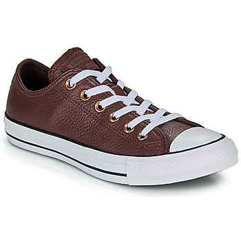 Converse CHUCK TAYLOR ALL STAR LEATHER - OX men's Shoes (Trainers) in multicolour. Sizes available:3,4
