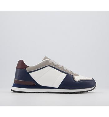 Office Cedric Retro Runners MULTICOLOURED