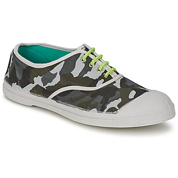 Bensimon TENNIS CAMOFLUO men's Shoes (Trainers) in Multicolour. Sizes available:8,8.5,9.5,10.5,11