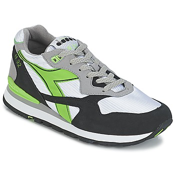 Diadora N-92 men's Shoes (Trainers) in Multicolour. Sizes available:3.5