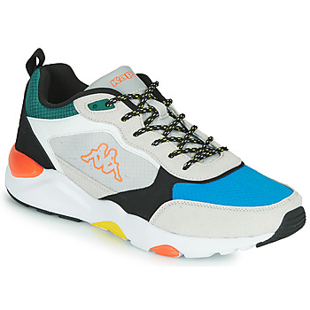 Kappa BRADY men's Shoes (Trainers) in Multicolour. Sizes available:8,11